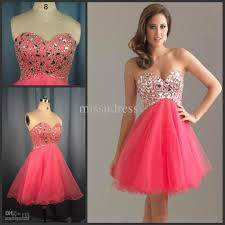 best selling custom made pink diamond beading tulle short