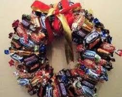 candy wreath candy wreath etsy