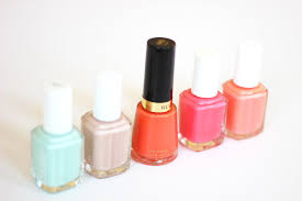 top 5 favorite nail polish colors for summer