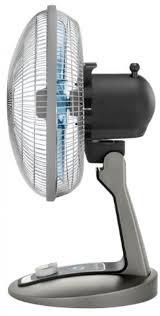 Quiet Desk Fans by Rowenta Vu2531 Turbo Silence Oscillating 12 Inch Table Fan