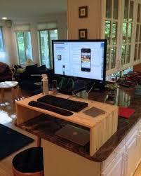 Diy Standing Desk by Stand Up Desk Diy Home Dec Pinterest Ikea Standing Desks