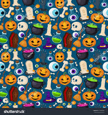cute happy halloween pictures seamless pattern with cute ghosts spooks background halloween