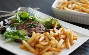 cuisine steak haché steak haché et frites maison wecook