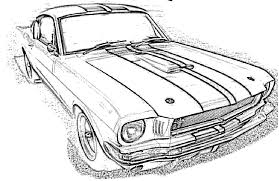 mustang gt 350 coloring mustang car coloring pages car