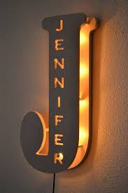 Kids Room Lighting by New Twist On The Marquee Letters Marquee Lights Bedroom Lamp