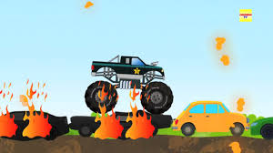 monster trucks kids video monster truck kids video truck for kids youtube