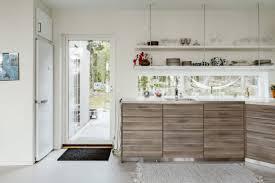 cuisines scandinaves cuisine scandinave design un plan de travail en bois stratifi