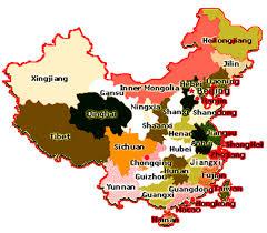 map of china china provinces map china travel tools