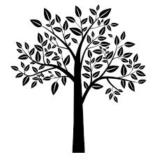 full leafy tree wall art stickers wall decal transfers