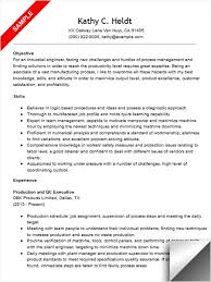 Sample Resume For Canada by Industrial Engineer Sample Resume Gallery Creawizard Com