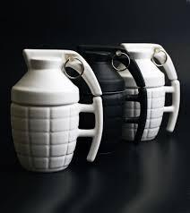 grenade mug white cool coffee mugs cool gift ideas hottt com