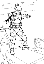 lego star wars boba fett coloring pages star wars color