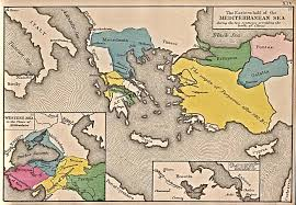 Map Of Mediterranean Countries Reisenett Historical Maps Of Europe