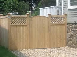 Backyard Gate Ideas Garden Fence Door Cedar Garden Fence Gate Designs Ghanadverts Club
