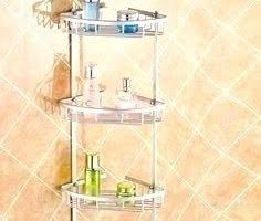 bathroom caddy ideas enjoyable tiers aluminum satina corner bathroom caddy ideas