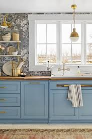 images of kitchen cabinets painted blue 31 kitchen color ideas best kitchen paint color schemes