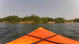 Minnesota snorkeling images Cuyuna abandoned iron mine lakes kayaking and snorkeling ironton jpg