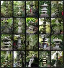 japanese stone lanterns in monte palace tropical garden madeira
