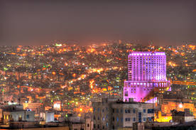 file colorful lovely lights of amman jpg wikimedia commons