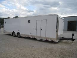 Cargo Trailer With Bathroom Race U0026 Auto Trailers Fayetteville Nc Hgrs Trailers