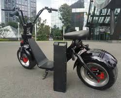 1000w harley scooter city coco caigiees with a distachable battery