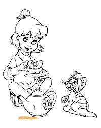 oliver and company coloring pages disney coloring book