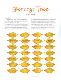 blessings tree friend