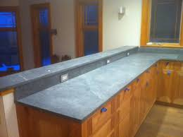 Kitchen Cabinets Wisconsin by Furniture Oak Kitchen Cabinets With Soapstone Countertops For