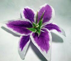 Purple Lily Flower Purple Stargazer Lily Real Touch Bouquet Purple Stargazer