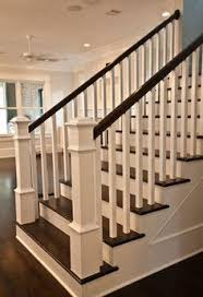 Refinish Banister Best 25 Painted Stair Railings Ideas On Pinterest Railings