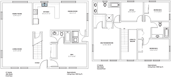 Second Story Floor Plans by 2 Story Cabin Plans Home Design Inspirations