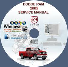dodge ram 1500 2500 3500 4000 ram pickup 2005 service u0026 repair