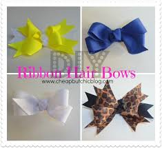 bows and ribbons diy ribbon hair bows 2 types of bows