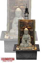 Water Fountain Home Decor Lighted Buddha Waterfall Tabletop Fountain Water Indoor Home Decor
