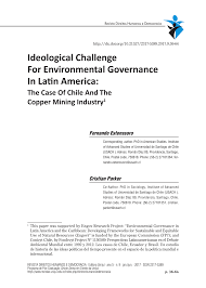 Challenge O Que ã Ideological Challenge For Environmental Governance In