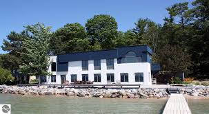 landscaped homes for sale in traverse city northern michigan and