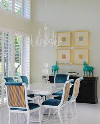 miami white lacquer table dining room contemporary with