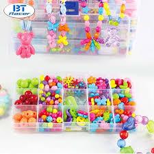bead bracelet kit images Bt racer girl bead necklace set diy jewelry toys crystal string jpg