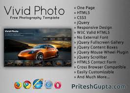 vivid photo free photography template pritesh gupta
