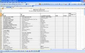 Budget Excel Template My Wedding Reception Ideas Blog Wedding Checklist Excel 01