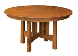 54 round modesto pedestal table mission style tables dining