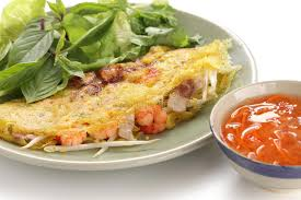 vietnamesische küche banh xeo vietnamesische küche stockbild bild 27533303