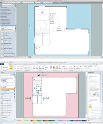 How To Make A Floor Plan On Microsoft Word by House Electrical Plan Software Electrical Diagram Software