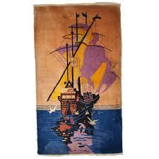 antique 1920s chinese art deco rug aptdeco