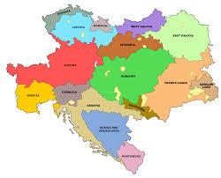 Austria Map Image Map Of Austrian Republics No Napoleon Png Alternative