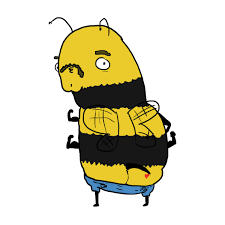 will this list of inappropriately drawn cartoon bees finally