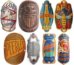 headbadges the lost gorgeous bicycle ornaments of