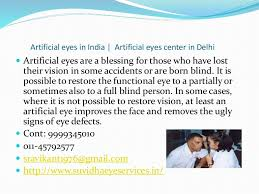 Artificial Eye For Blind Artificial Eyes In India