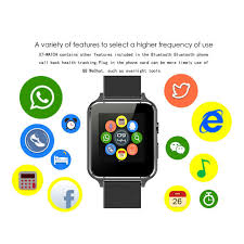android mp3 x7 smart fitness clock mp3 fm sim smart