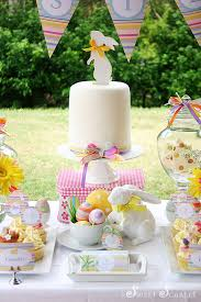 Easter Decorations For Cakes by Easter Dessert Table Decorations Spring Easter Party Ideas